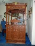 Mimbar Khutbah Masjid Ukir Kode ( MM 012 )