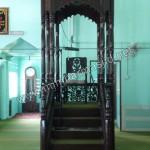Mimbar Masjid Atap Kubah Model Timur