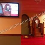 Mimbar Masjid Minimalis Toronto