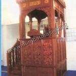 Mimbar Masjid Ukir Lemahan Jati Jepara