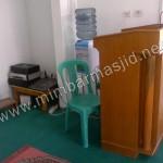Podium Mimbar Masjid Minimalis
