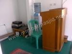 Podium Mimbar Masjid Minimalis Kode ( MM 006 )