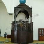 Mimbar Masjid Coffe Brown Jati Jepara