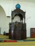 Mimbar Masjid Coffe Brown Jati Jepara Kode ( MM 026 )