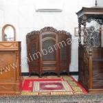 Mimbar Masjid Kubah dan Podium Masjid