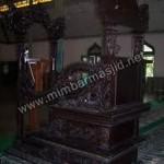 Mimbar Masjid Ukir Model Kuno