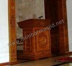 Mimbar Masjid Ukir Model Podium Kode ( MM 060 )