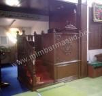 Mimbar Masjid Ukir Tangga Samping Kode ( MM 036 )
