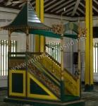 Mimbar Masjid Warna Kombinasi Antik Mewah Kode ( MM 049 )