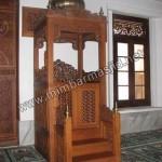 Contoh Model Mimbar Masjid dari Jepara