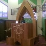 Mimbar Masjid Minimalis Kerucut