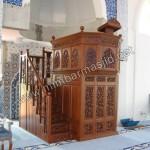 Mimbar Masjid Ukir Kerawang Jati Jepara