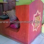 Jual Podium Mimbar Masjid Minimalis MM 180
