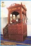 Mimbar Masjid Ukir Lemahan Jati Jepara Kode ( MM 016 )