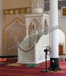 Mebel Duco Mimbar Masjid Atap Kubah Ukir Kode ( MM 027 )