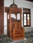 Model Mimbar Masjid dari Jepara Kode ( MM 079 )