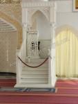 Mimbar Masjid Duco Putih Model Atap Kubah Kode ( MM 072 )