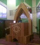 Mimbar Masjid Minimalis Kerucut Kode ( MM 082 )