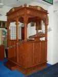 Tampak Penuh Mimbar Masjid Jati Jepara Kode ( MM 077 )