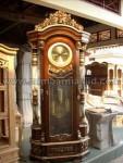 Jam Hias Bandul Kayu Jati Kode ( MM 162 )