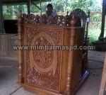 Podium Mimbar Ukiran Jati MM 187