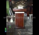Contoh Mimbar Masjid Terbaru Furniture Terlaris Furniture Best Seller MM PM 1271