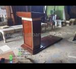 Contoh Podium Masjid Paling Laku Furniture Stock Kode MM PM 1260
