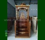 Furniture Jepara Mimbar Masjid Atap Kubah Produk Terlaris MM 243
