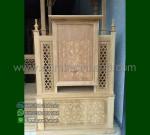Furniture Jepara Mimbar Masjid Ukiran Kubah Ready Stock Siap Kirim MM 193