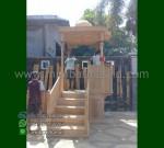 Furniture Modern Mimbar Atap Kubah Jati Promo Terbaru Kami MM 249