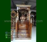 Furniture Modern Mimbar Kubah Jati Jepara Produk Unggulan Mewah MM 274
