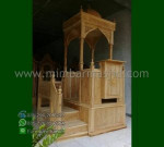 Furniture Stock Mimbar Masjid Kubah Stock Mebel Terbaru MM 252
