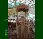 Furniture Stock Mimbar Masjid Ukiran Kubah Furniture Best Seller MM 277