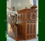 Furniture Terlaris Mimbar Kubah Jati Jepara Produk Unggulan Mewah MM 250
