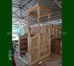 Furniture Ukir Mimbar Masjid Atap Kubah Produk Terlaris MM 291