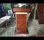 Harga Mimbar Jati Mebel Modern Produk Terlaris MM PM 1261