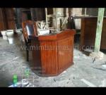 Harga Mimbar Kayu Jati Mebel Jepara Product Paling Laris MM PM 1265
