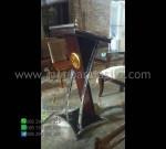 Harga Mimbar Kayu Jati Mebel Minimalis Desain Furniture Modern MM PM 1355