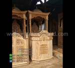 Harga Mimbar Masjid Kayu Jati Ready Stock Product Paling Laris MM PM 1339