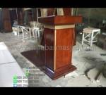 Harga Mimbar Pidato Minimalis Furniture Minimalis Promo Stock Mimbar MM PM 1262