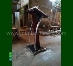 Harga Mimbar Podium Mebel Minimalis Furniture Stock Kode MM PM 1188