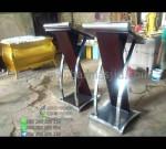 Harga Podium Stainless Steel Produk Unggulan Toko Online Furniture Minimalis MM PM 1323
