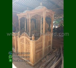 Mebel Jati Mimbar Masjid Kubah Jati Product Paling Laris MM 271