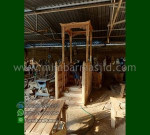 Mebel Modern Mimbar Masjid Ukir Atap Kubah Furniture Stock Kode MM 290