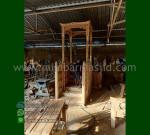 Mebel Modern Mimbar Masjid Ukir Atap Kubah Furniture Stock Kode MM 290