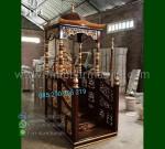 Mebel Modern Mimbar Masjid Ukiran Kubah Ready Stock Siap Kirim MM 265