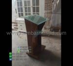 Mimbar Jati Minimalis Furniture Jepara Desain Furniture Modern MM PM 1305