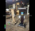Mimbar Jati Minimalis Furniture Stock Stock Mebel Terbaru MM PM 1198