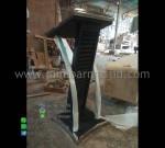 Mimbar Kaca Jati Furniture Modern Furniture Best Seller MM PM 1295