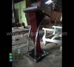 Mimbar Masjid Minimalis Hpl Ready Order Promo Furniture Jati MM PM 1301